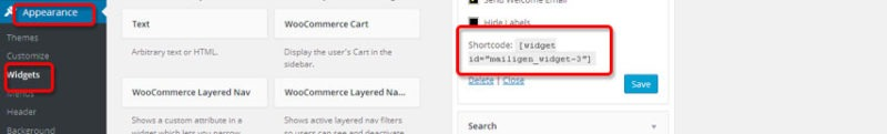 Shorcode