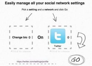 Bliss Control: Nastavenia sociálnych sietí z jedného miesta
