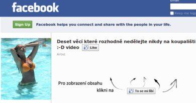 Ako obísť facebook stránky