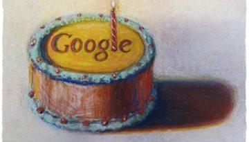 Google oslavuje 13 rokov