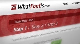 WhatFontis za Vás nájde písmo použité v obrázku