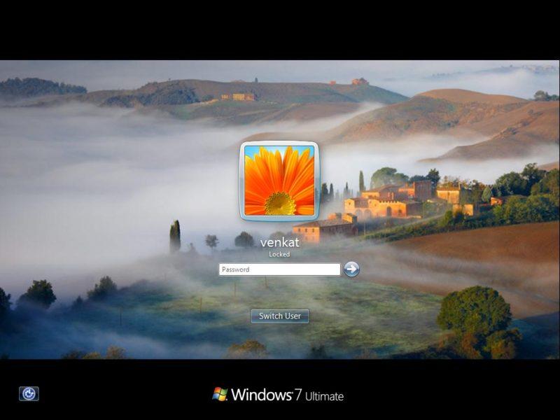 Ako nastaviť pozadie prihlasovacej stránky Windows 7?