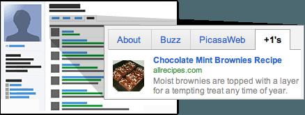 Zobrazenie záložky +1's v Google profile