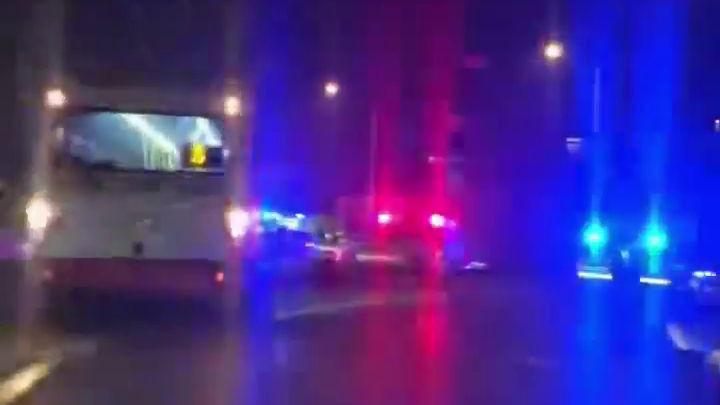 Dopravná nehoda trolejbusu linky 5 na križovatke pri starých kasárňach, Banská Bystrica